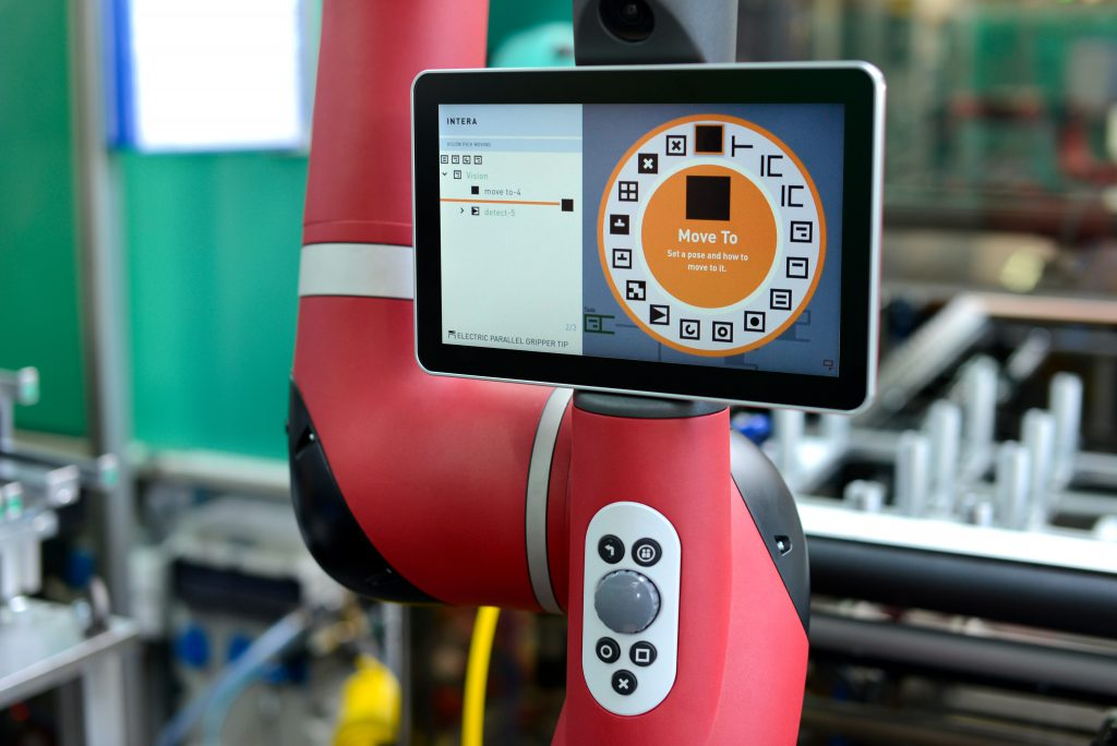 Software INTERA 5 du robot SAWYER